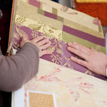 Fabric used for curtains and blinds