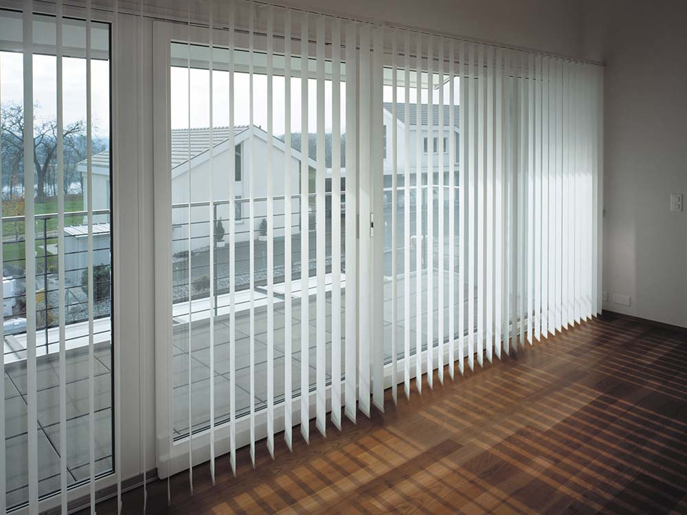 Vertical Blinds Are Practical Space Saving Window