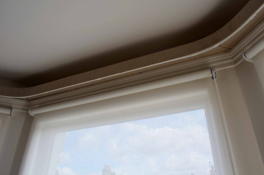 Voile Roller Blinds Top Down Babic Interiors