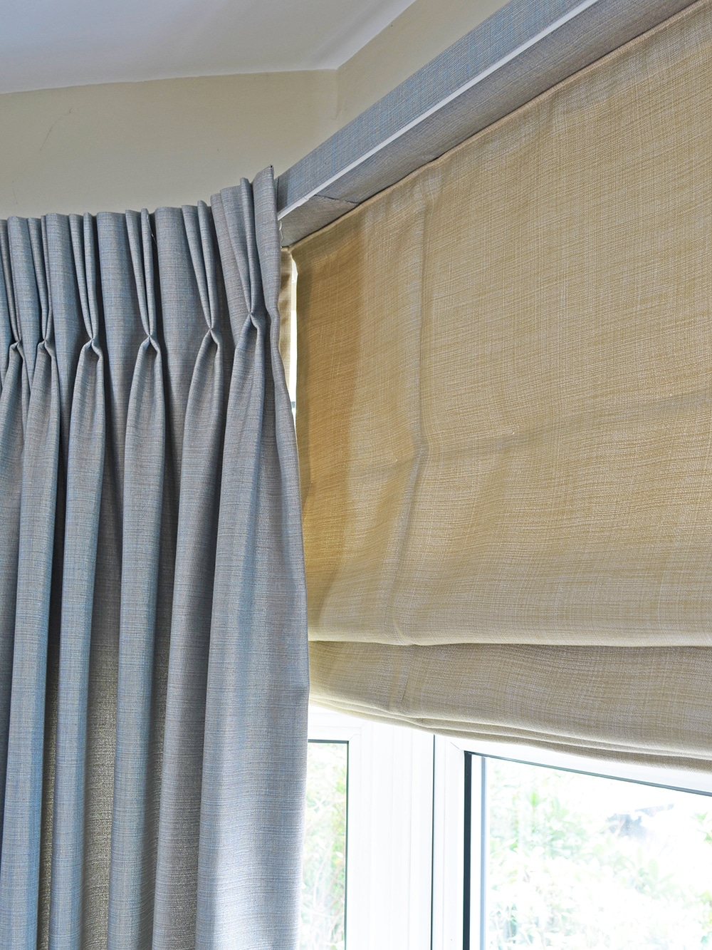 double pleat curtains
