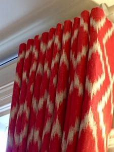 WAVE STYLE CURTAINS ON A METROPOLE, THERMAL CURTAINS